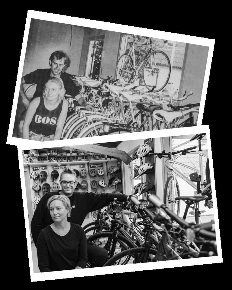 Generationsskifte hoss Boss Cykler - også på nettet