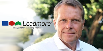 Webdesign for Leadmore - Mads Middelboe