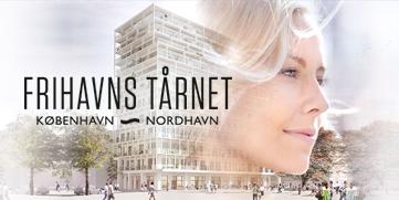 Frihavns Tårnet i Nordhavnen